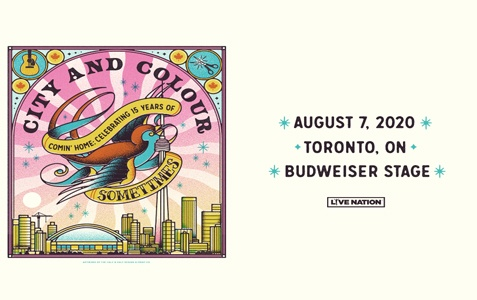 City and Colour [CANCELLED]